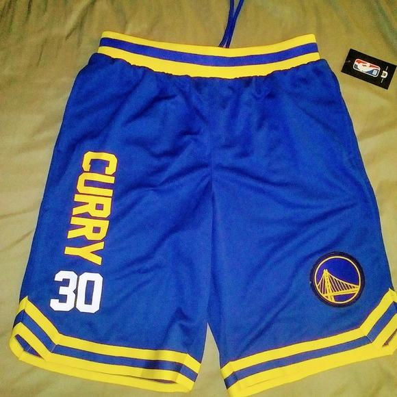NBA Stephen Curry shorts
